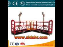 for cleaning external wall 630kg powered suspended platform Exporter