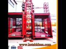 Free Height: 50m Building Construction Hoisting