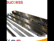 G60 Material Gear Rack And Pinion For Construction Hoist