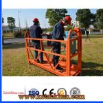 Galvanized Steel Rope Lift Suspended Platform