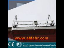 galvanized steel suspended platform for ship building and repairing