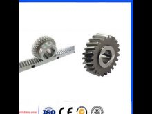 Gear Rack And Pinion Design For Cnc Machine