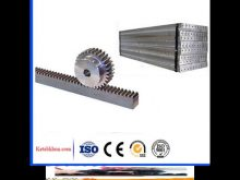 Gear Rack And Pinion For Sliding Gate