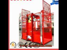 Gesc100/200 Construction Elevator,Passager Hoist For Construction Double Ca