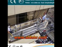 Glass Washing Machine suspended platform