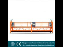 Gondola Bmu For Facade Cleaning