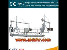 gondola lift Suspended Platform 6m window cleaning platform 630kg loading construction cradles