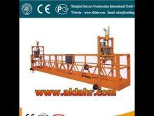 good high rise suspended platform plant