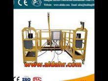 good Work Platform Suspended Platform Steel Cradle 2016