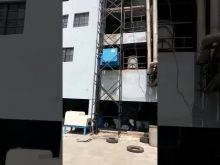 Goods Lift for shifting Material to various floors of the building. Mfgd by Acme Concrete Mixers