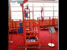 Hanging Suspended Working Platform Safety