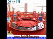 Height Work Adjustable Rope Suspended Platform