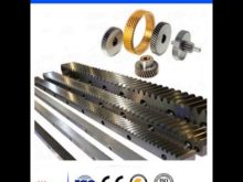 Helical Gear Racks And Pinions,Nylon / Steel Gear Rack For Sliding Gate Opener