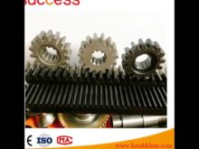 Helical Teeth Gear Rack For Engraving Machine