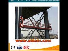 high building cleaning equipment suspended platform/cradle equipment
