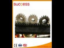 High Precision C45 Steel Cnc Gear Rack 19*19*1000 And Pinion