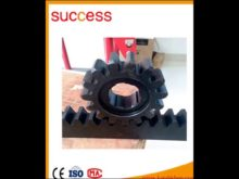 High Precision C45 Steel Cnc Gear Rack And Pinion