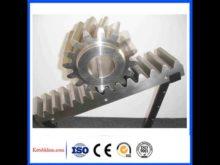 High Precision Cnc Machine Hobing Gear Helical Gear Rack And Gear