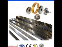 High Precision Copper Worm Gear And C45 Worm ShaftIso9001 2008 Approved