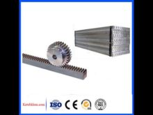 High Precision Gear Rack And Pinion For Cnc Machine