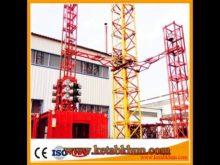 High Quality New 2017 Tower Crane