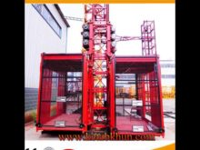 High Quality Sc100 Sc200 Construction Hoist Lifting Machine Price List