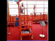 High Safety Glass Window Cleaning Gondola