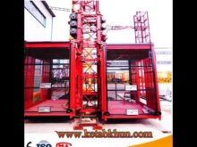 High Speed Sc200/200 Rack And Pinion Style Construction Elevator