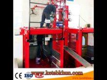 Hoist and Sc100 1000 Kg of Goods Elevator Mechanical Device