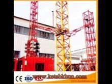 Hoist Lift Climbing Manual Tower Crane