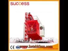 Hoist Self Erecting Popular High Quality Tower Crane
