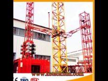 Hoisting Construction Popular Alibaba Tower Crane