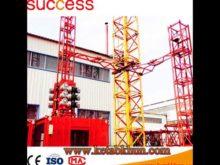 Hoisting Speed 32 14/15 60/3 5 M/Min, Qtz250/5010 C Tower Crane