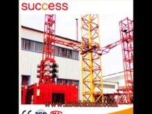 Hoisting Speed 32 14/15 60/3 5 M/Min, Tower Crane Services