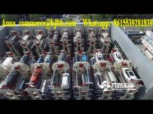 Hospital project Outdoor 12 Spaces vertical cycle Car Smart Key parking System