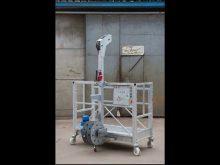 Hot Sale Lifting Speed Suspended Platform