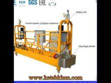 Hot Sale Zlp 630 Suspended Working Platform