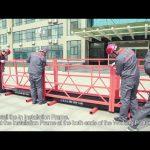 Installation Video of ZLP630 ZLP800 Suspended Platform-English
