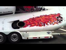 JBS Offshore Racing Boat