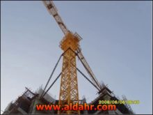 Jib Crane Without Top Qtz60 PT5011 with CE and ISO9001