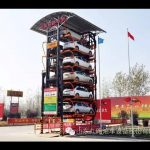 Jiuroad PCX-12 Vertical Rotary Parking System Test and Debug Video