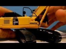 Komatsu PC400LC Demo Excavator Review