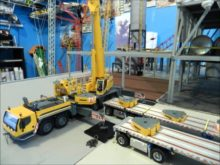 Liebherr LTM 1350-6.1 assembly