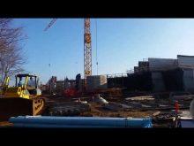 Liebherr self erecting tower crane