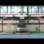 Lifting and Transverse stereo garage with CE/Hydraulic 2 level automatic car parking system