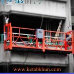 Low Cost Zlp500 Aluminum Suspended Platform