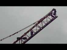 ltm 1300 taking down tower crane 1