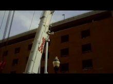 ltm 1300 taking down tower crane 6