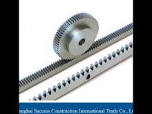 M1 M10 Precision Oem Steel Gear Rack And Pinion Gears In China 1