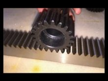 M1 M10 Steel Small Rack And Pinion Gears , Stainlss Steel Gear Racks And Pinion, Gear Racks